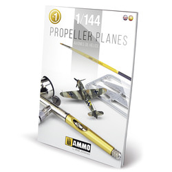 Propeller Planes 1/144 Vol. 1 English, Spanish - Ammo by Mig Jimenez - A.MIG-6144