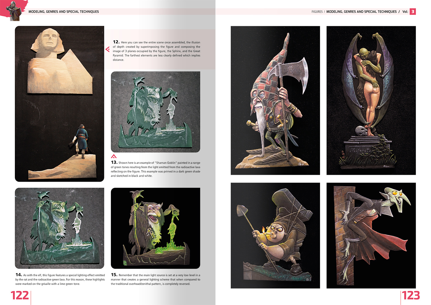 Ammo by Mig Jimenez Encyclopedia Of Figures Modelling Techniques Vol. 3 - Modelling, Genres And Special Techniques English - Ammo by Mig Jimenez - A.MIG-6223