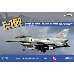 F-16D52+ - Scale 1/72 - Kinetic - KIN72002