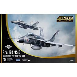 F/A-18A/D Vfc-112 Aggressor - Scale 1/48 - Kinetic - KIN48088
