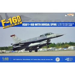 F-16D Block 52+ Rsaf - Scale 1/48 - Kinetic - KIN48007