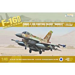 F-16DIdfBarkeet - Scale 1/48 - Kinetic - KIN48009