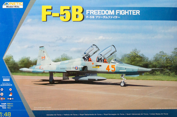 Kinetic F-5B (Cf-5B, Nf-5B) Freedom Fighter- Scale 1/48 - Kinetic - KIN48021