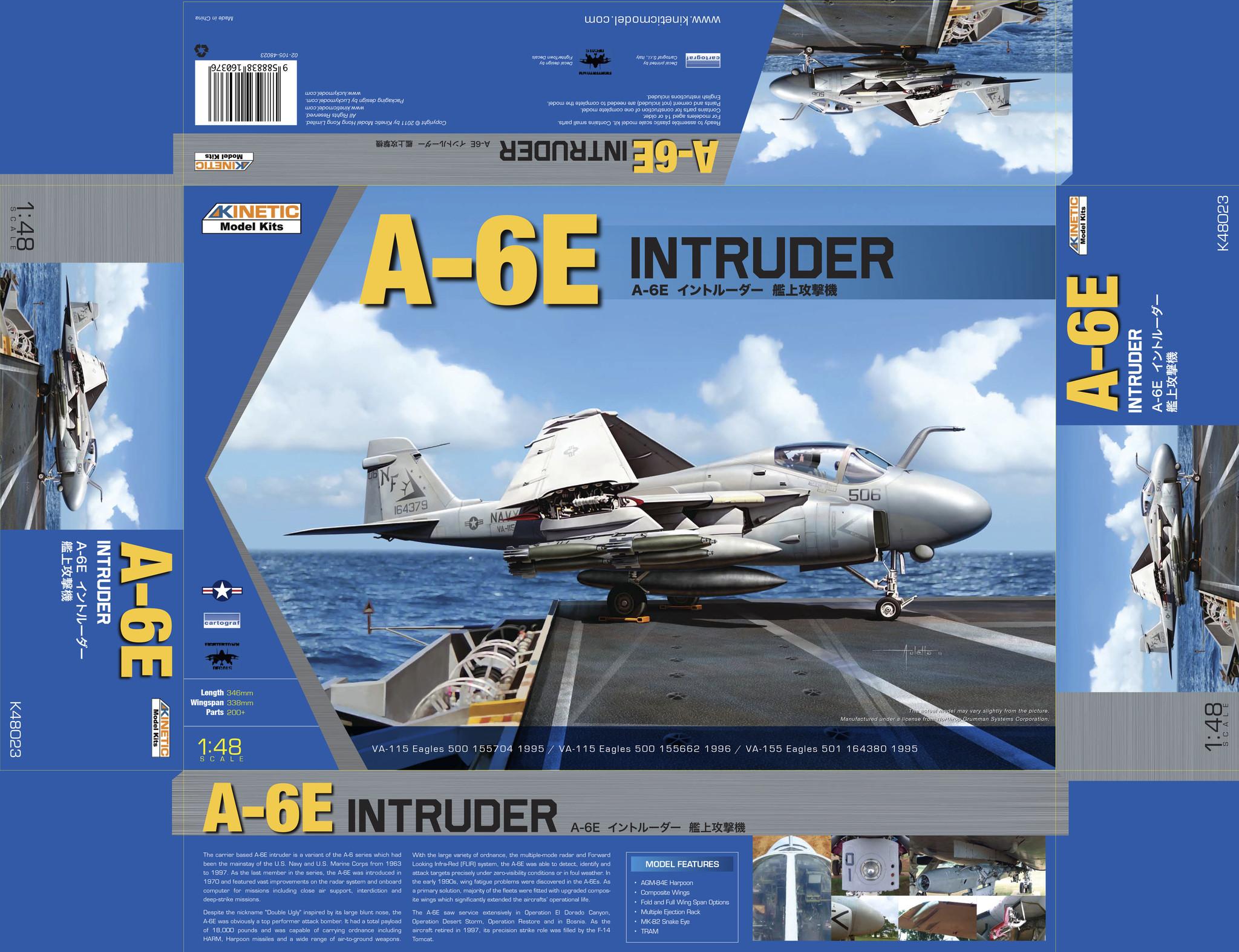 Kinetic A-6E Intruder - Scale 1/48 - Kinetic - KIN48023