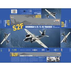 Grumman S-2E/G Tracker - Scale 1/48 - Kinetic - KIN48024