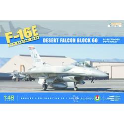 F-16E Uae Desert Falcon Block 60 - Scale 1/48 - Kinetic - KIN48029