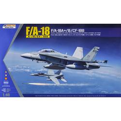 F/A-18A+, Cf-188 - Scale 1/48 - Kinetic - KIN48030
