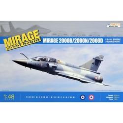 Mirage 2000B/2000D/2000N - Scale 1/48 - Kinetic - KIN48032