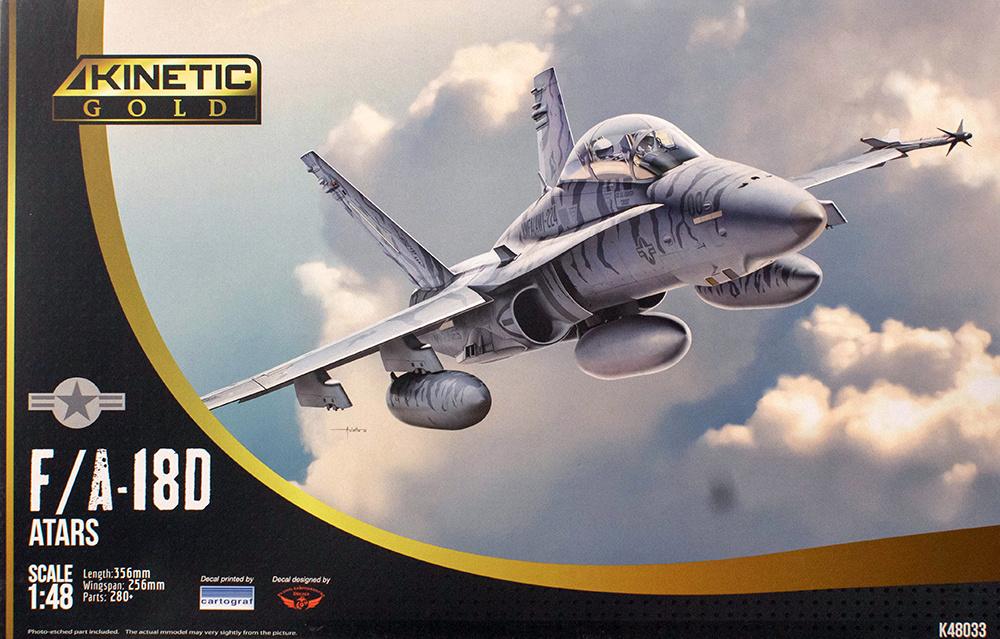 Kinetic F/A-18D Atars - Scale 1/48 - Kinetic - KIN48033