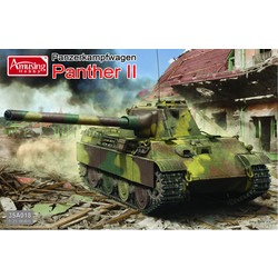 Panther Ii (2In1) - Scale 1/35 - Amusing Hobby - AH35A018