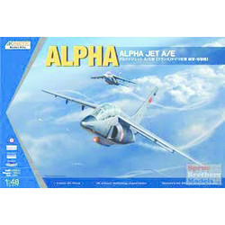 AlphaJetA/E - Scale 1/48 - Kinetic - KIN48043