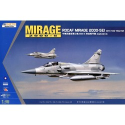 Mirage 2000C Rocaf W/ Tractor - Scale 1/48 - Kinetic - KIN48045
