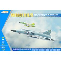 South American Mirage Iiie/V - Scale 1/48 - Kinetic - KIN48052