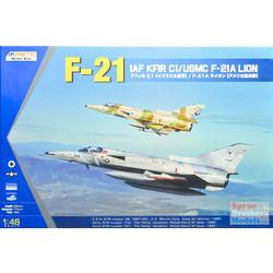 Iaf Kfir C1 / Usmc F-21A - Scale 1/48 - Kinetic - KIN48053