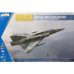 Mirage Iiid/Ds - Scale 1/48 - Kinetic - KIN48054