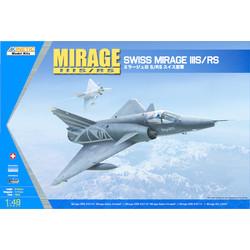 Mirage Iiis/Rs - Scale 1/48 - Kinetic - KIN48058
