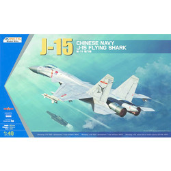 J-15 Chinese Naval Fighter - Scale 1/48 - Kinetic - KIN48065