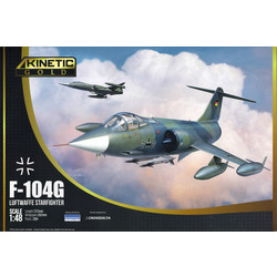 F-104G Luftwaffe Starfighter - Scale 1/48 - Kinetic - KIN48083