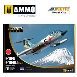F-104Dj/J Jasdf - Scale 1/48 - Kinetic - KIN48092