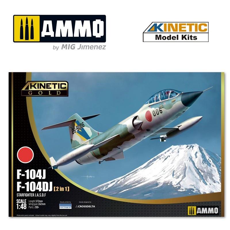 Kinetic F-104Dj/J Jasdf - Scale 1/48 - Kinetic - KIN48092