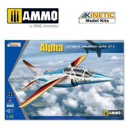 Alpha-Jet Luftwaffe - Scale 1/48 - Kinetic - KIN48087
