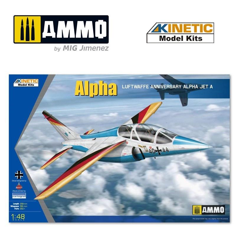 Kinetic Alpha-Jet Luftwaffe - Scale 1/48 - Kinetic - KIN48087