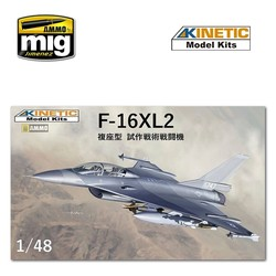 F-16Xl2 - Scale 1/48 - Kinetic - KIN48086