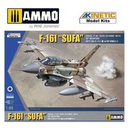 F-16I With Idf Weapon - Scale 1/48 - Kinetic - KIN48085