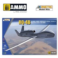 Rq-4B Global Hawk (Us/Korea/Japan) - Scale 1/48 - Kinetic - KIN48084