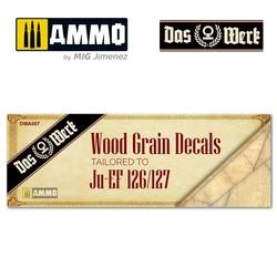 Wood Grain Decals For Elli - Dw32001 - Scale 1/32 - Das Werk - DWA007