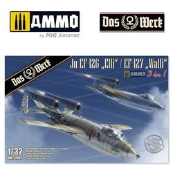 """Ju Ef-126 """"Elli""""/ Ef-127 """"Walli"""" - Scale 1/32 - Das Werk - DW32001"""