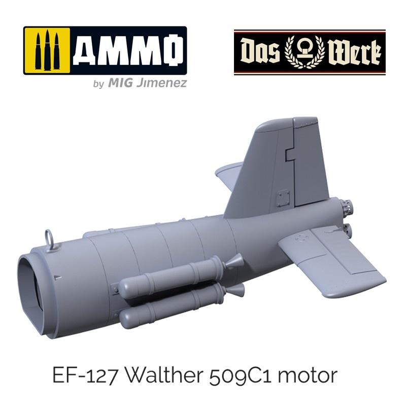 """Das Werk Ju Ef-126 """"Elli""""/ Ef-127 """"Walli"""" - Scale 1/32 - Das Werk - DW32001"""