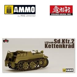 Sdkfz 2 Kettenkrad - Scale 1/32 - Zoukei Mura - VOLKSWPS01