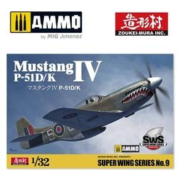 P-51D/K Mustang Iv - Scale 1/32 - Zoukei Mura - VOLKSWS09