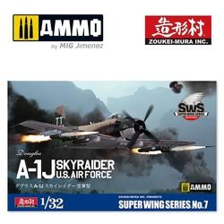 Douglas A-1J Skyraider Us Air Force - Scale 1/32 - Zoukei Mura - VOLKSWS07