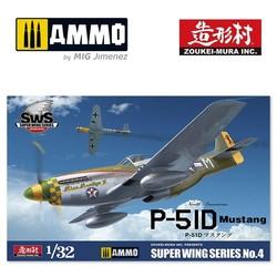 P-51D Mustang - Scale 1/32 - Zoukei Mura - VOLKSWS04