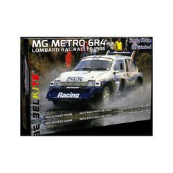 Mg Metro 6R4 1986 Mcrae Jimmy Rac - Scale 1/24 - Belkits - BEL016