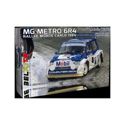 Mg Metro 6R4 1986 M.Wilson Monte Carlo - Scale 1/24 - Belkits - BEL015