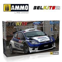 Ford Fiesta S2000 Hirvonen Mc 2010 - Scale 1/24 - Belkits - BEL002