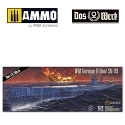 S.M. U-Boot 9 - Scale 1/72 - Das Werk - DW72001