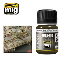 Streaking Grime For Winter Vehicles - 35ml - Ammo by Mig Jimenez - A.MIG-1205