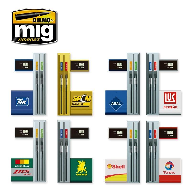 Ammo by Mig Jimenez Gas Station - Scale 1/35  - Ammo by Mig Jimenez - A.MIG-8501