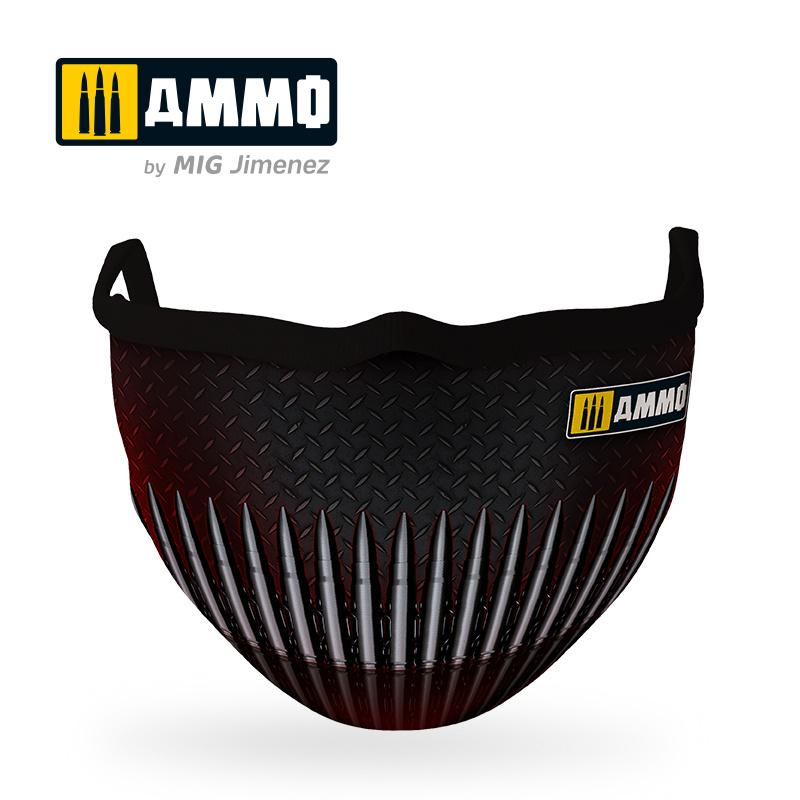Ammo by Mig Jimenez Ammo Face Mask 2.0 (Hygienic Protective Mask 100% Polyester) - Ammo by Mig Jimenez - A.MIG-8072