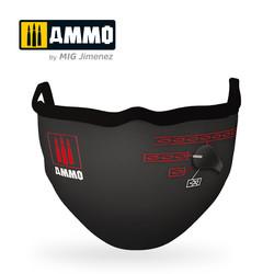 "Ammo Face Mask ""Switch Mask"" (Hygienic Protective Mask 100% Polyester) - Ammo by Mig Jimenez - A.MIG-8071"