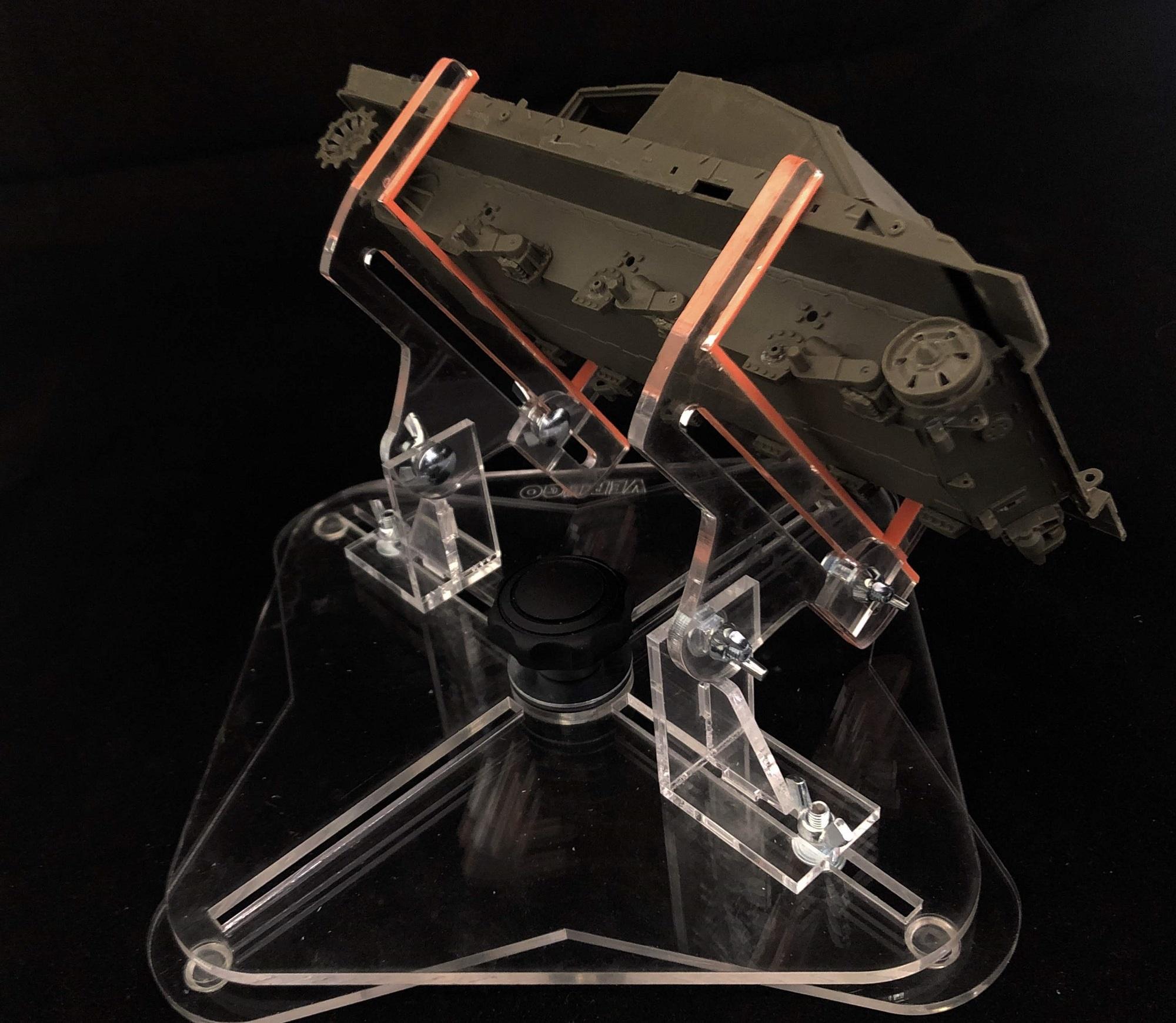 Vertigo Jigs Airbrush III, With Rotary Base, Afv - Vertigo Jigs - VMP026