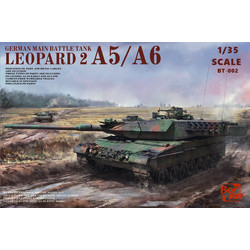 Leopard 2A6 - Scale 1/35 - Border Models - BT002