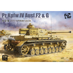 Pz.Kpfw.Iv Ausf.F2  G Early  2In1 - Scale 1/35 - Border Models - BT004