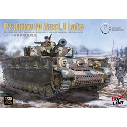 Pz.Kpfw.Iv Ausf. J Late 2 In 1 - Scale 1/35 - Border Models - BT008