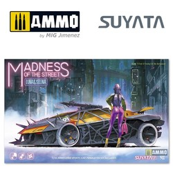 Madness Of The Streets - Luna & Selena - Scale 1/32 - Suyata - MS001