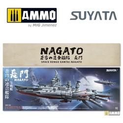 Space Rengo Kantai - Nagato - Scale 1/700 - Suyata - SRK001